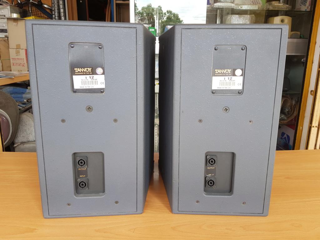 Tannoy i12 speaker (Used) 20200613