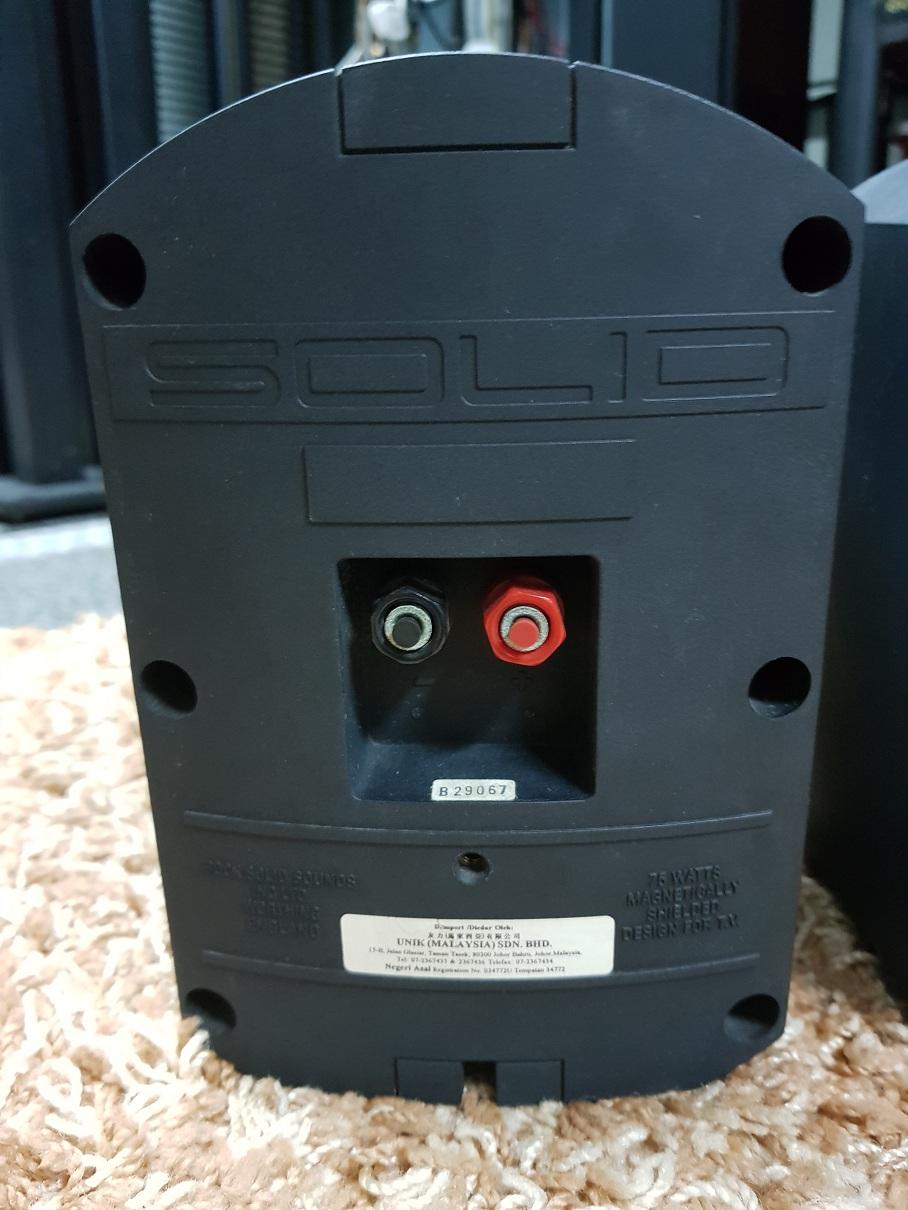 B&W Solid HCM2 speaker (used) 20200622