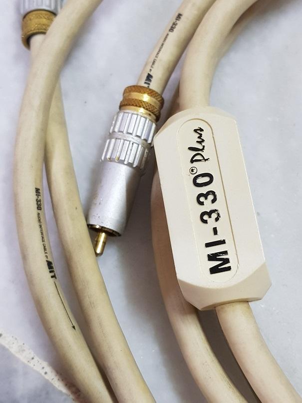 MIT MI-330 Plus RCA interconnect cables(Sold) 20200921