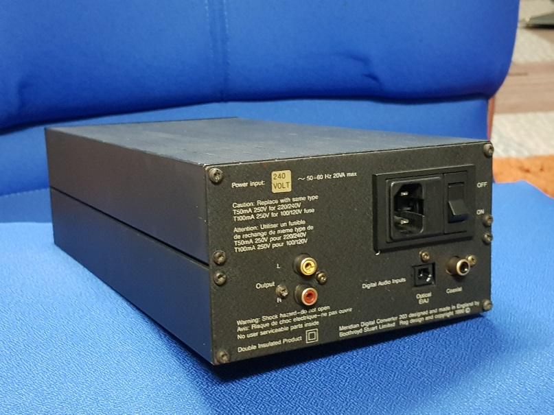 Meridian DAC 203 (Sold) 20201020