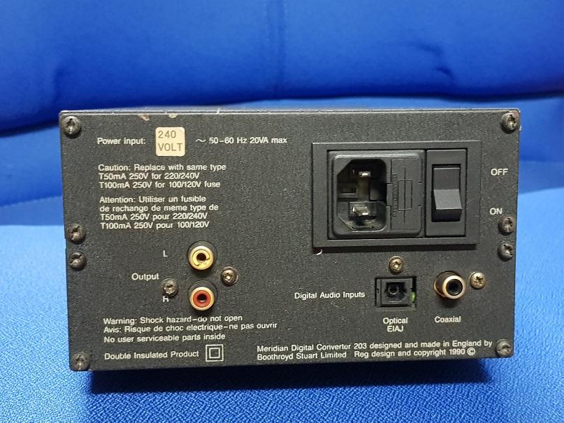 Meridian DAC 203 (Sold) 20201021