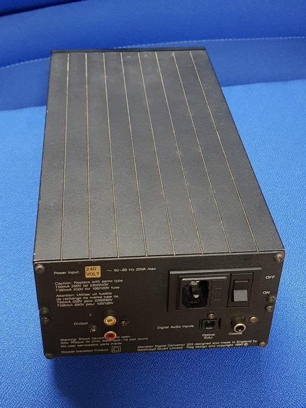 Meridian DAC 203 (Sold) 20201022