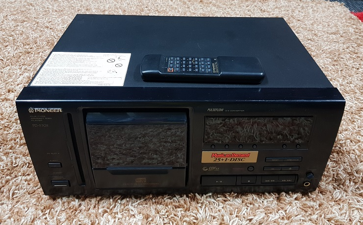 Pioneer PD-F705 Compact Disc Player 26 Changer (Used) 20201218