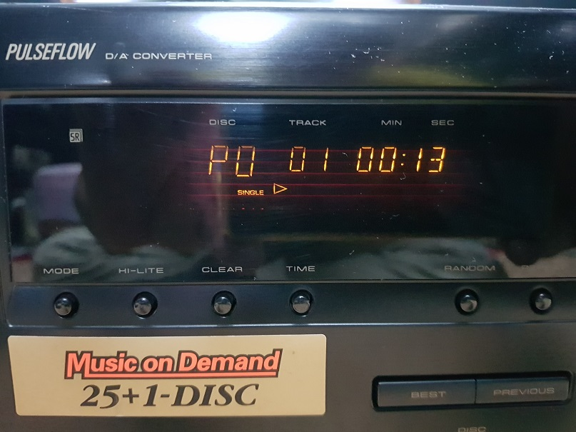 Pioneer PD-F705 Compact Disc Player 26 Changer (Used) 20201220