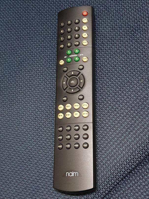Naim AV & Audio Remote Control (Sold) 20201224