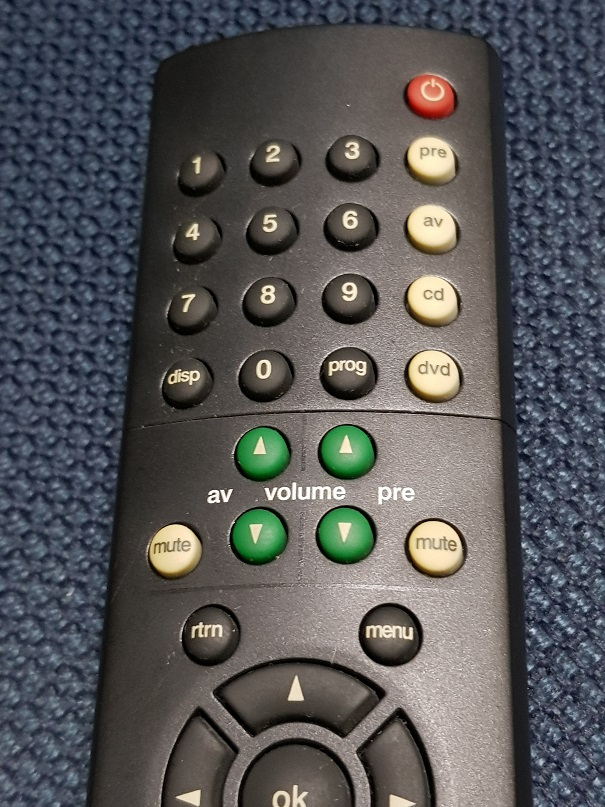 Naim AV & Audio Remote Control (Sold) 20201225