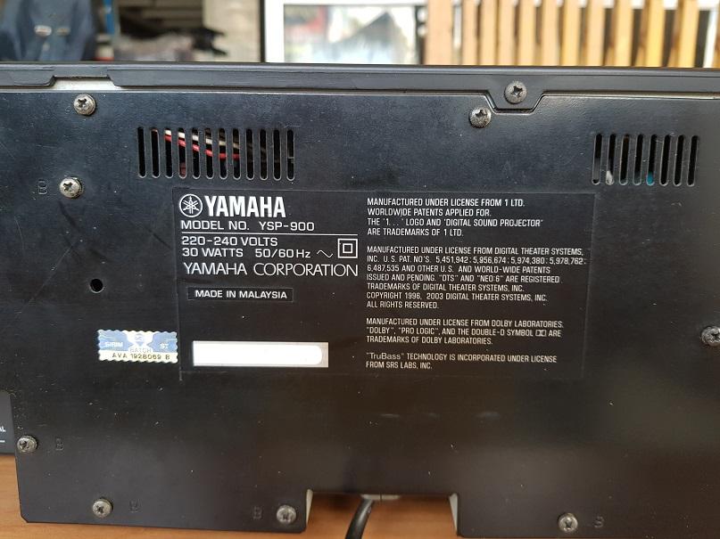 Yamaha YSP-900 soundbar Digital Sounds Projector (Sold) 20201232