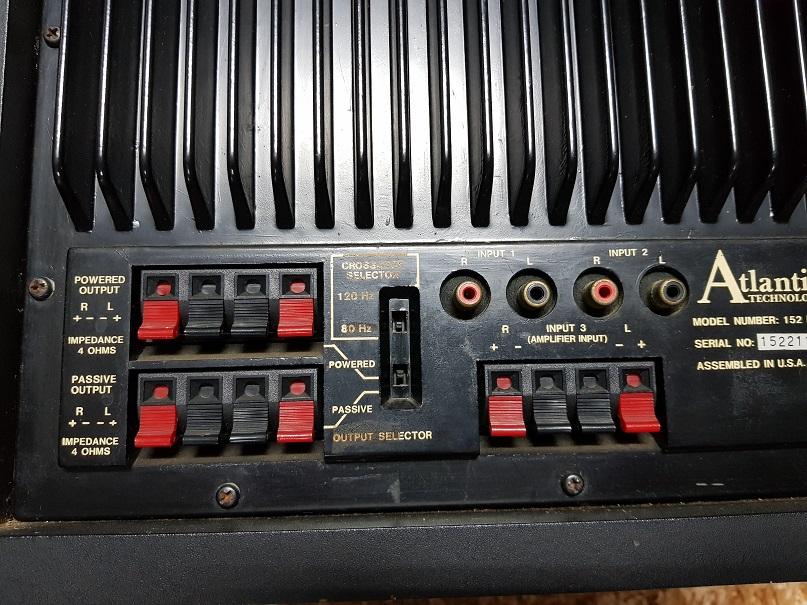 Atlantic Technology 152 PBM Powered Subwoofer (Used) 20210618