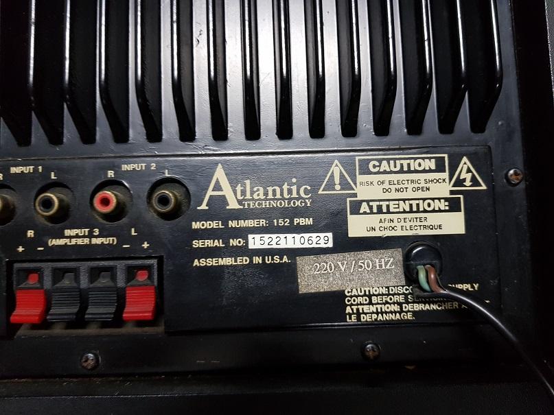 Atlantic Technology 152 PBM Powered Subwoofer (Used) 20210619
