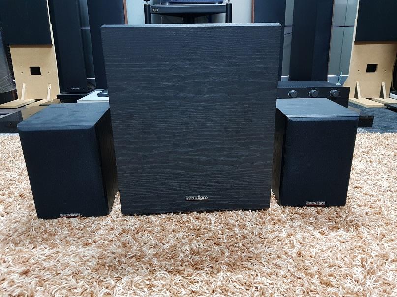 Paradigm SB-110 Series Passive Subwoofer speaker set (Used) 20210621