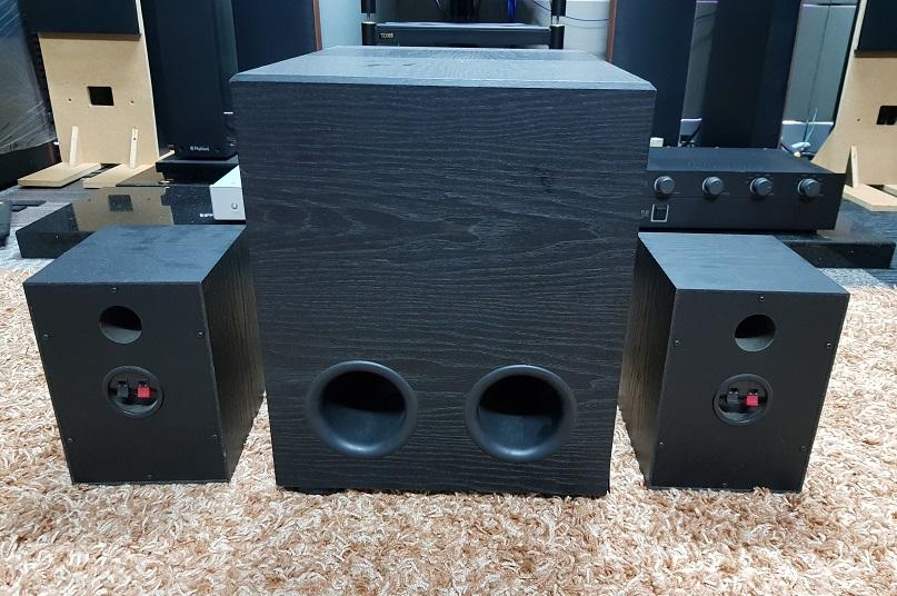 Paradigm SB-110 Series Passive Subwoofer speaker set (Used) 20210622