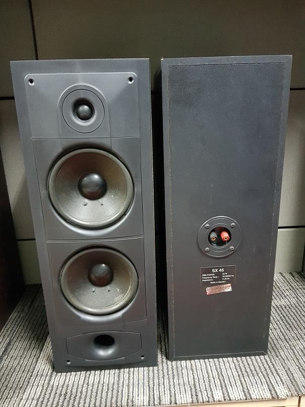 Sonab SX 45 stand mounted bookshelf speakers (Used) 20210627