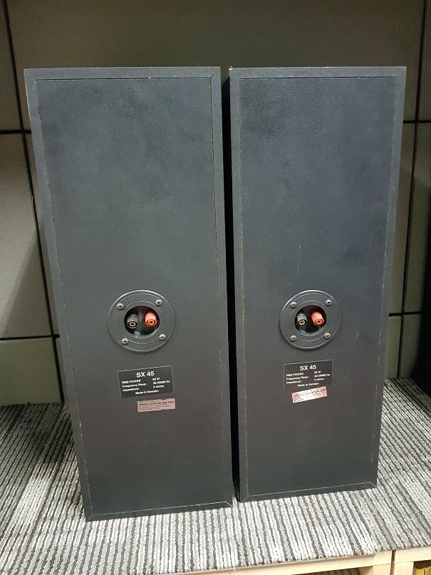 Sonab SX 45 stand mounted bookshelf speakers (Used) 20210628
