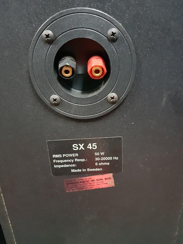 Sonab SX 45 stand mounted bookshelf speakers (Used) 20210631