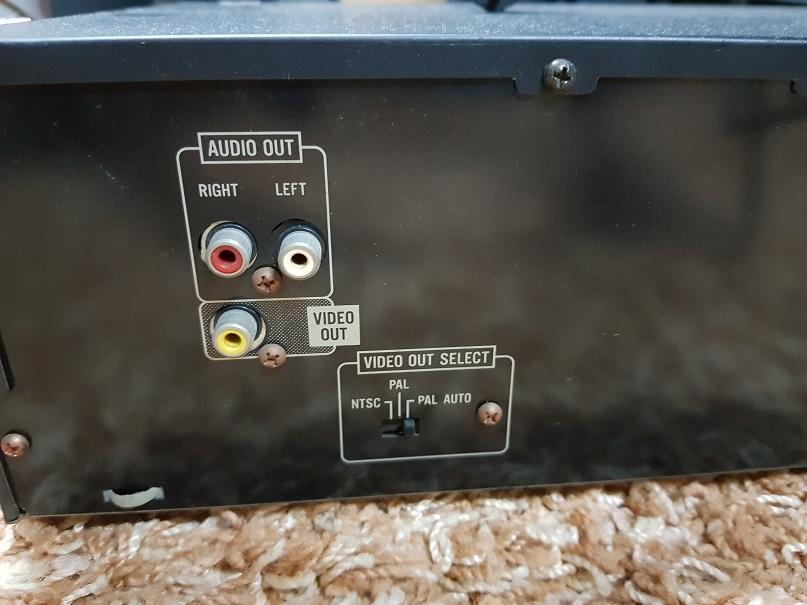 JVC XL-MV33 - 3 Tray Video Cd Player Karaoke Player (Used) 20210714