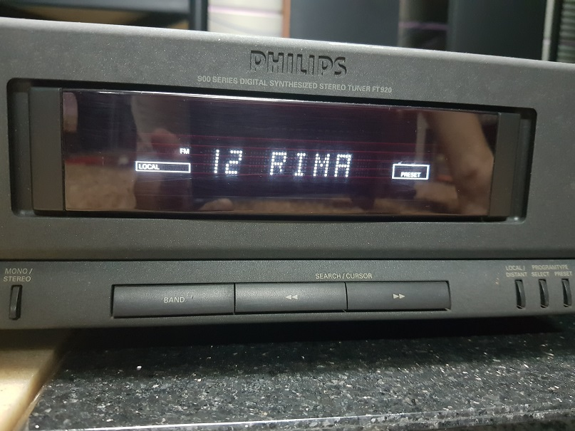 Philips FT920 Digital Synthesizer Stereo Tuner (Used) 20210729