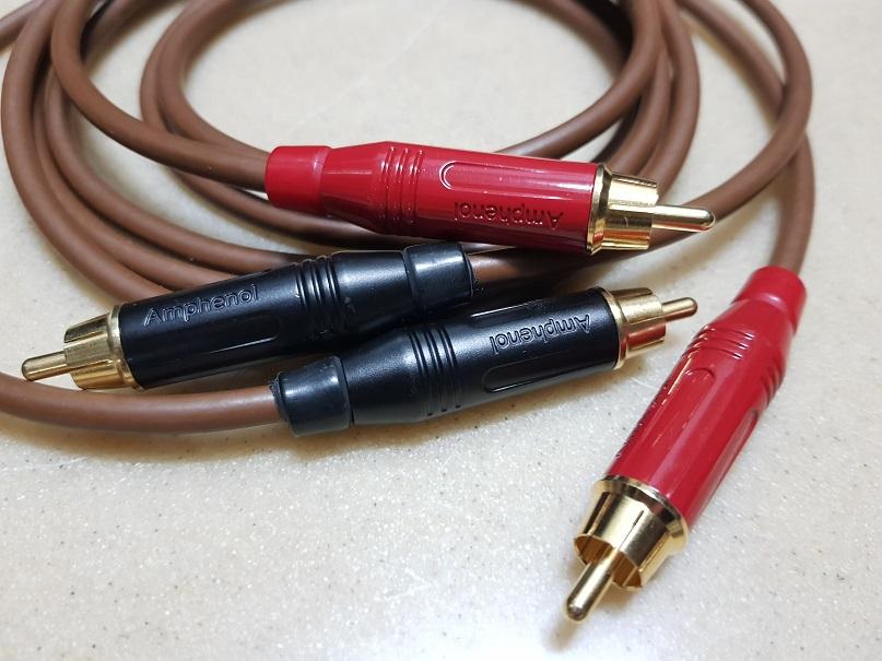 Van den hui M.C. D300 interconnect Cable 1.4m (Used) 20210915