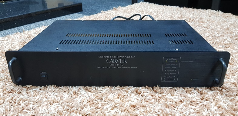 Carver M4.0t power amplifier 375watts (Used) 20210931