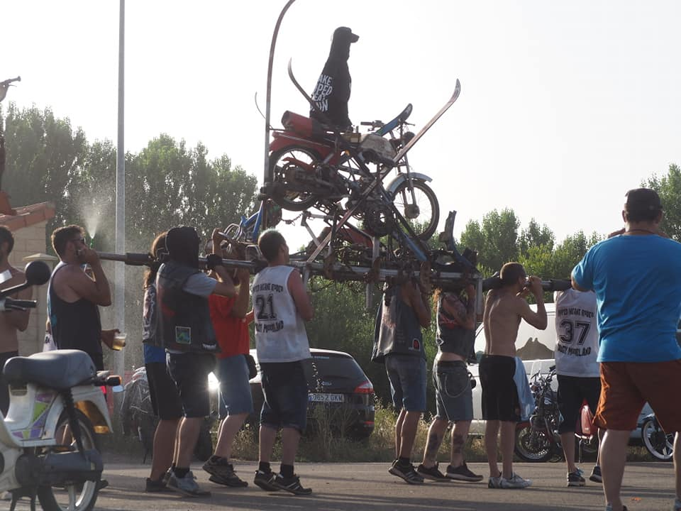 Concentracion Dusty moped insane rodeo Paso10