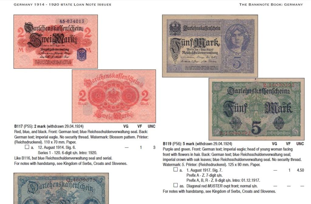 Catálogos The Banknote book - ¿Alguién los conoce? Ej10