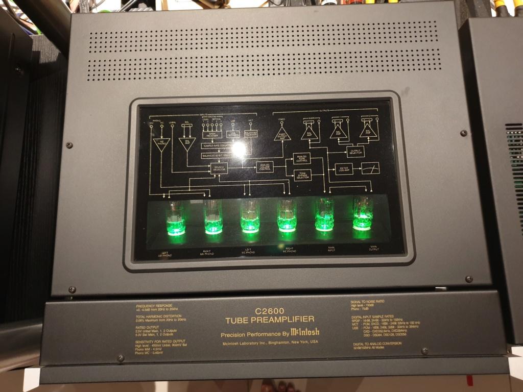 Mcintosh C2600 Tube Pre Amplifier ( used ) 20210311