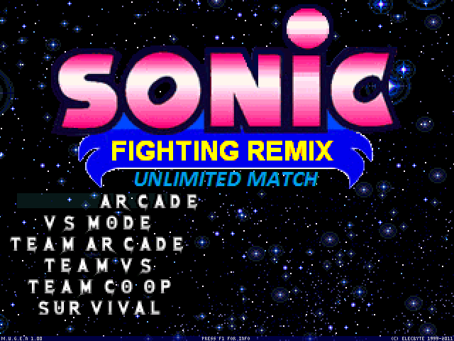 [Full Game WIP]Sonic Fighting Remix : Unlimited Match Mugen013