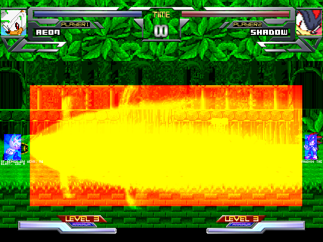 [Full Game WIP]Sonic Fighting Remix : Unlimited Match Mugen014