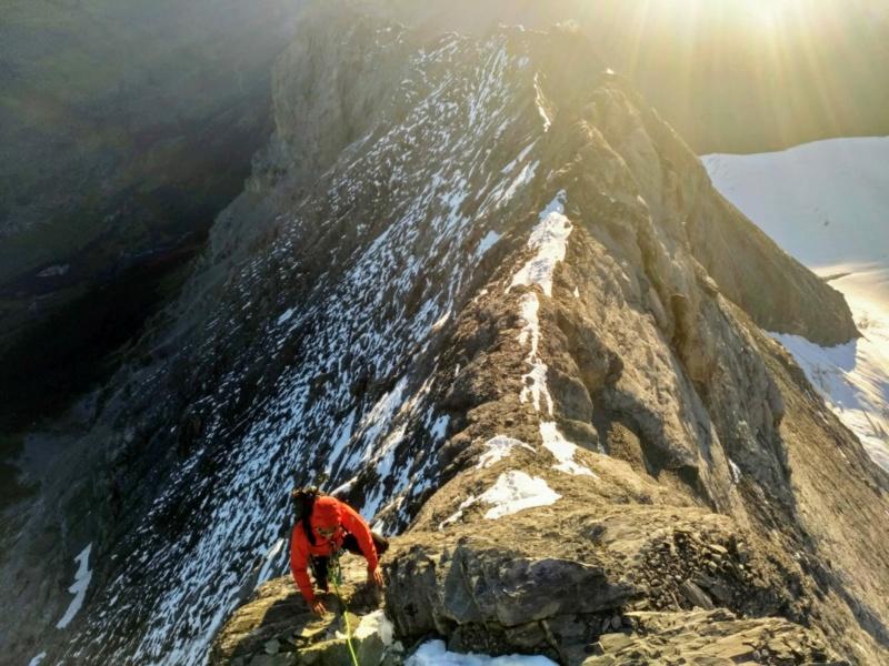 Eiger par l'arête Mittellegi 1010