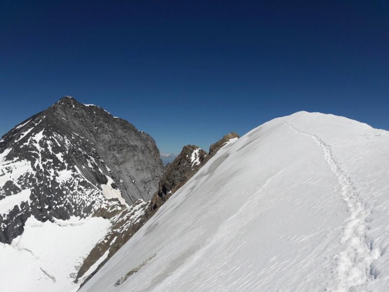 Eiger par l'arête Mittellegi 2010
