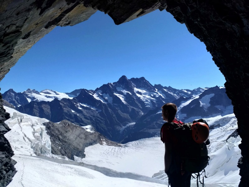 Eiger par l'arête Mittellegi 314
