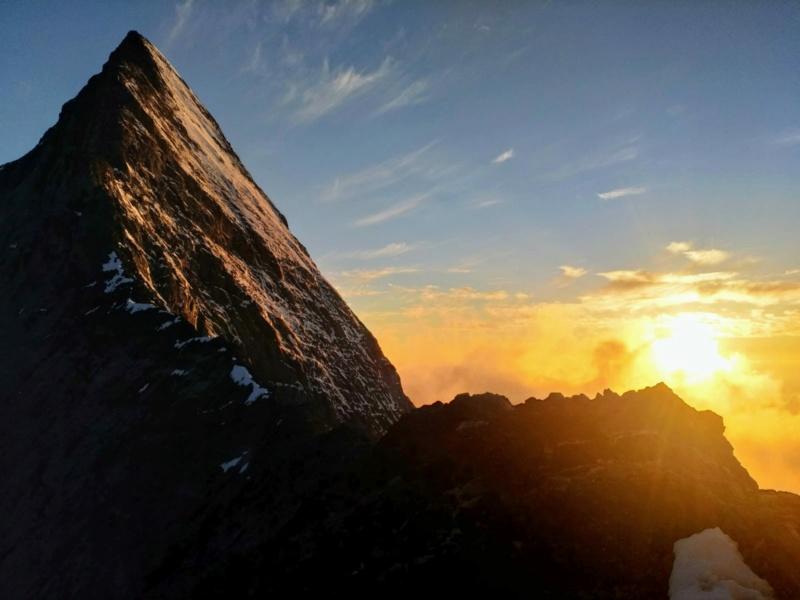 Eiger par l'arête Mittellegi 714