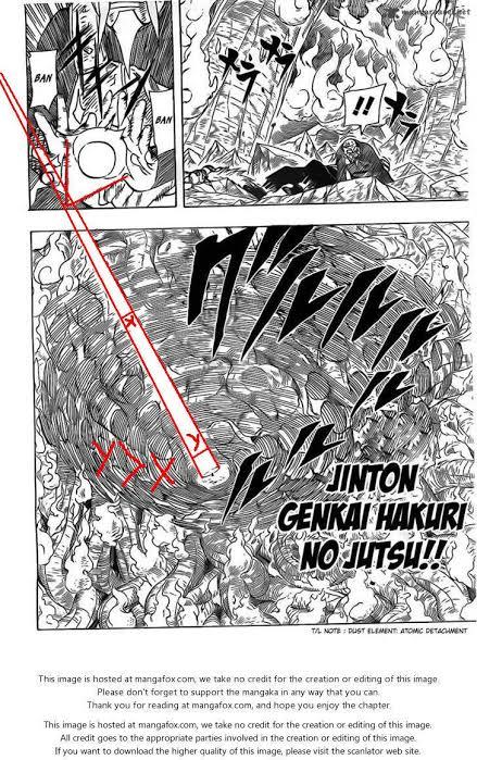 Qual o nível de chakra do Onoki no seu auge? 6ed53f10
