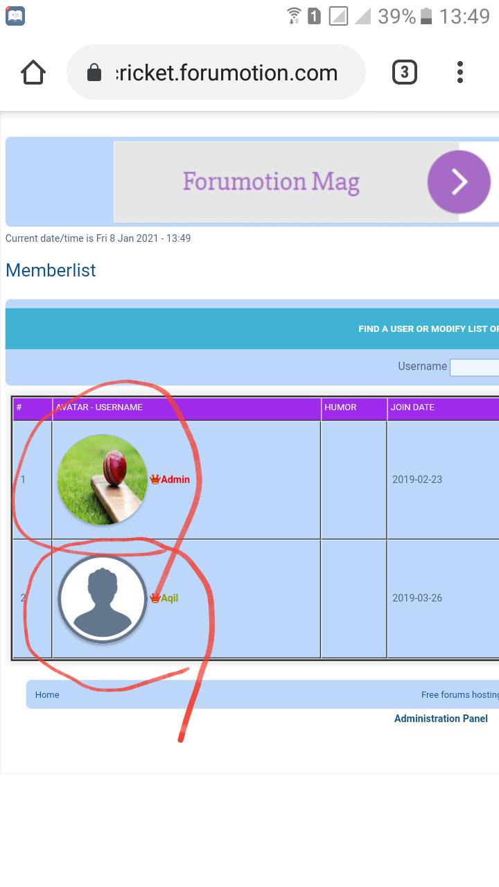 """Reduzir o tamanho do avatar na lista de """"Membros"""" 20210127"""