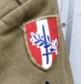 Patch sur veste 0f260510