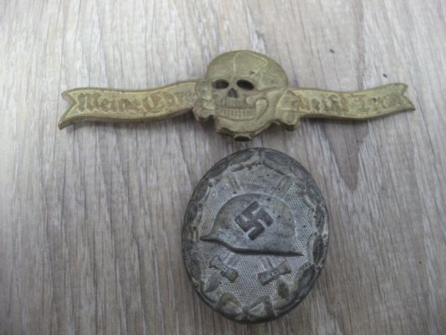 lot d'insignes allemand a authentifié Dscf4239