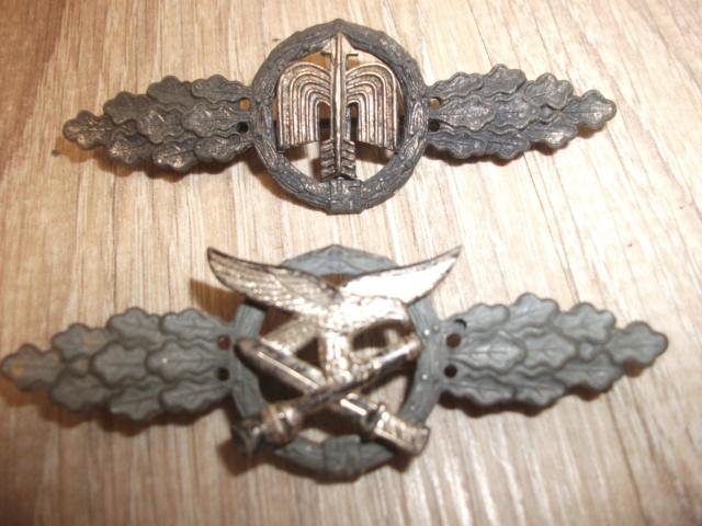 lot d'insignes allemand a authentifié Dscf4240