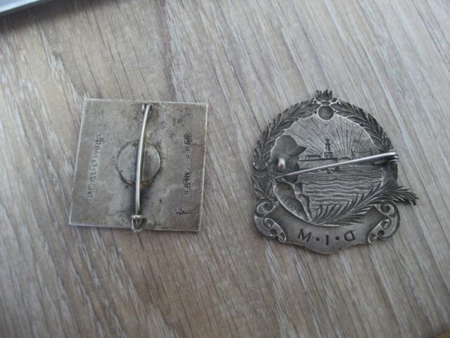 deux insignes don un à identifier Dscf4516