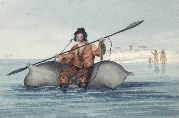 Anomalies du cercle polaire arctique : aperçu archéologique sous le pergélisol Dd-15310