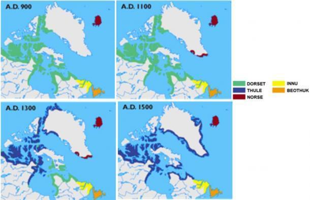 Anomalies du cercle polaire arctique : aperçu archéologique sous le pergélisol Ddd-1510