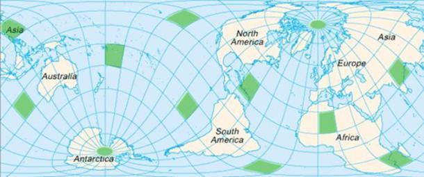 Triangle des Bermudes du Pacifique - La Mer du Diable Map-sh10