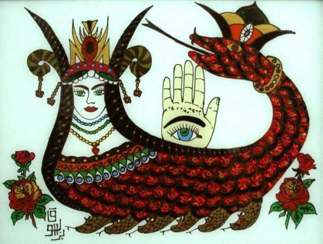 La Reine Perse des Serpents Shahma10
