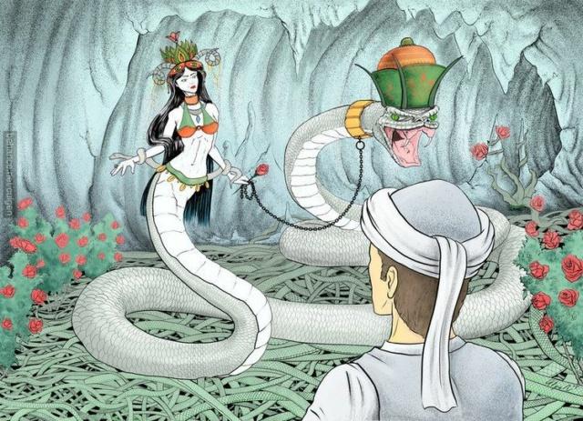 La Reine Perse des Serpents Shahma13