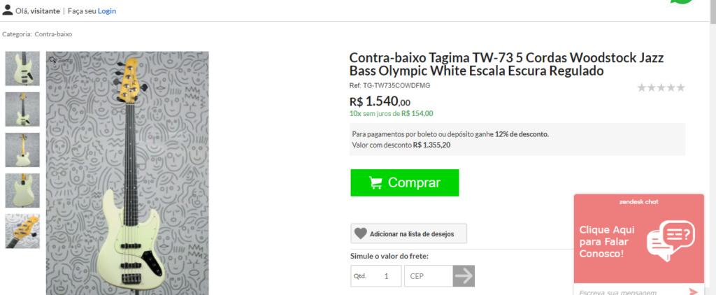 Tagima TW-73 5 Cordas! (Novidade) 1111110