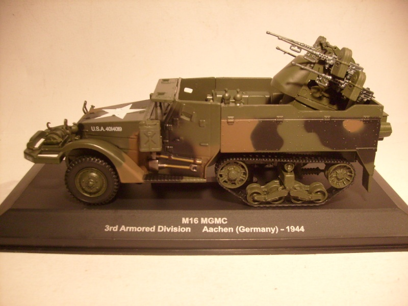 """retour de la serie """"véhicules militaires de la WWII au 43 eme"""" par Eaglemoss S7304626"""