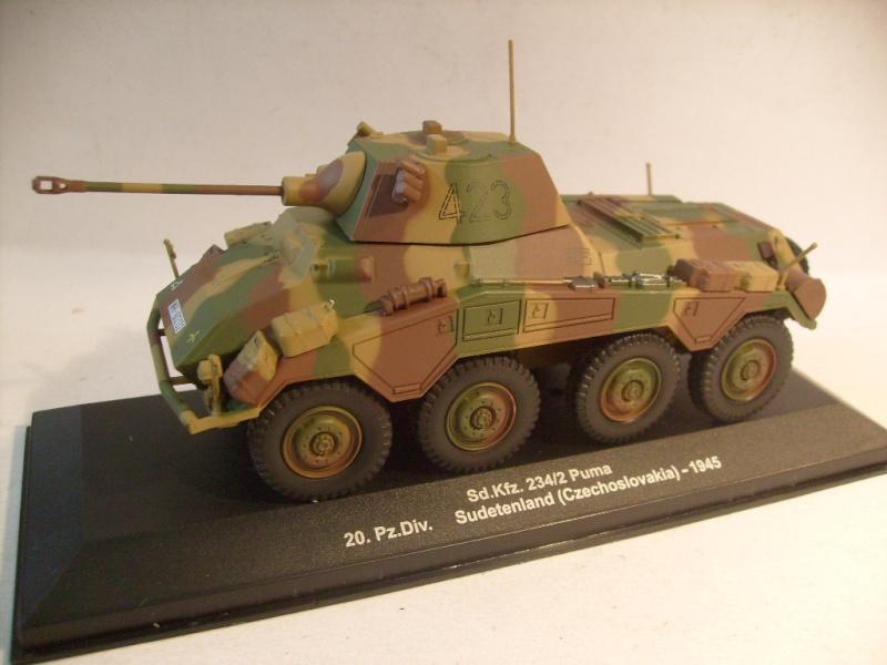 """retour de la serie """"véhicules militaires de la WWII au 43 eme"""" par Eaglemoss S7305118"""