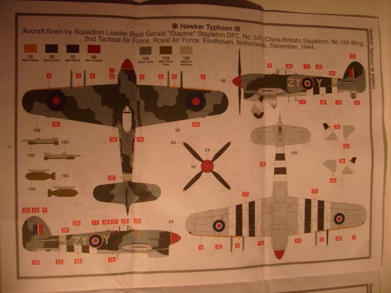 [Airfix] Hawker Typhoon 1B au 72 eme S7305727