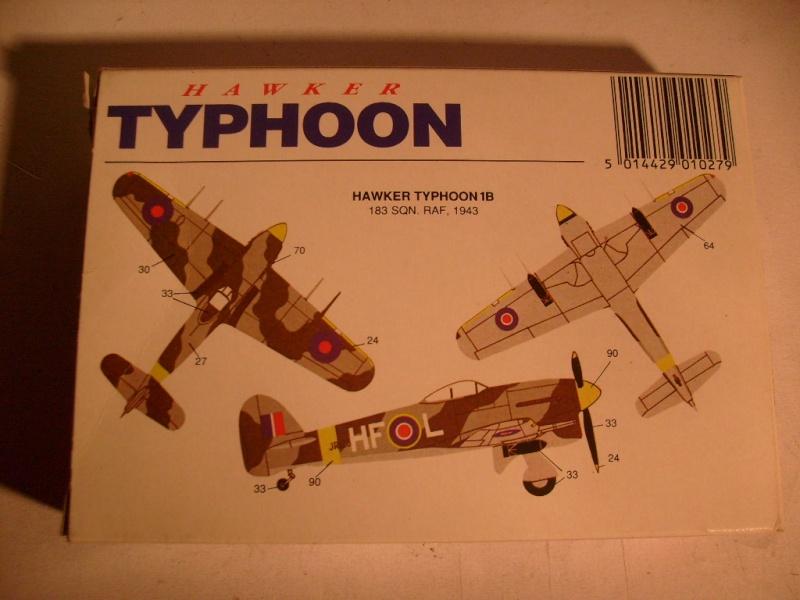 Comparatif des Typhoons mk 1 B de diverses marque S7305758