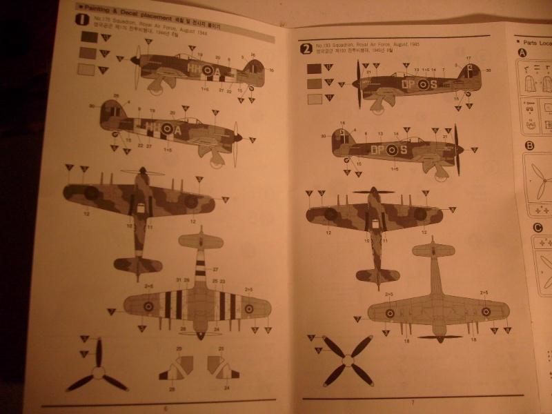 Comparatif des Typhoons mk 1 B de diverses marque S7305776