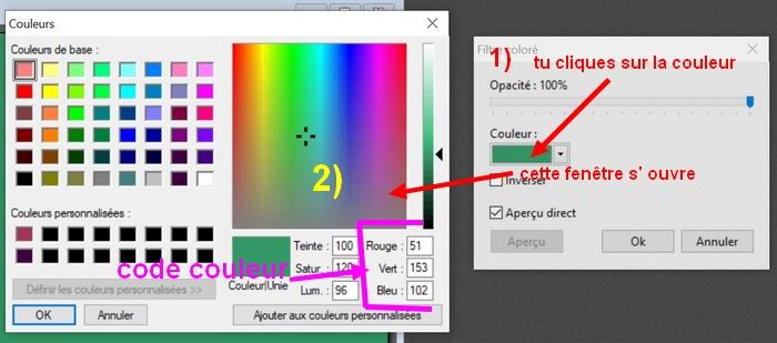 """N° 46 PFS """" Le Filtre Coloré """" 211"""