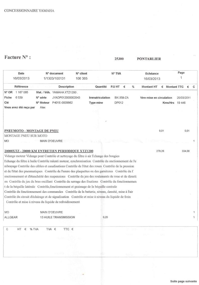 Révision 20.000 km - Page 2 Numari10